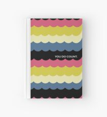 Sherlock Molly Hooper Pattern Quote Hardcover Journal