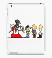 The Four Horsemen...in training iPad Case/Skin