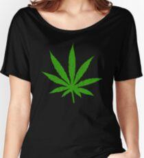 Marijuana Leaf Women's Relaxed Fit T-Shirt