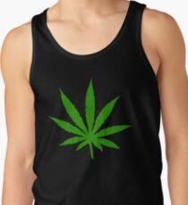 Marijuana Leaf Tank Top