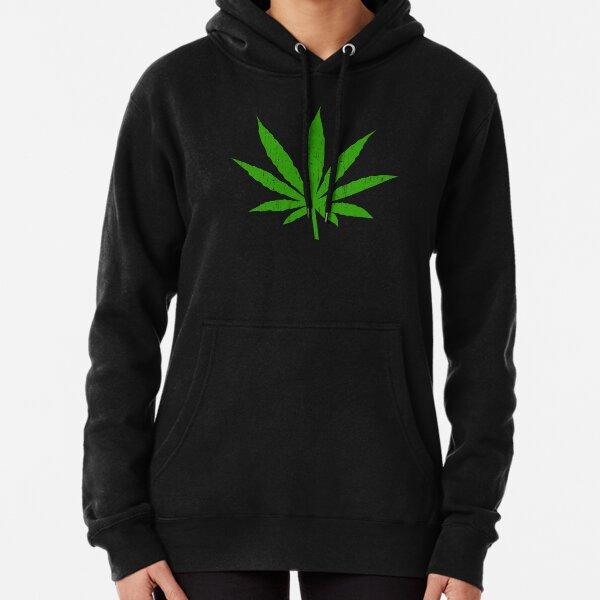 Marijuana Leaf Pullover Hoodie