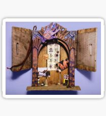 Altar Gateway: removing obstacles Sticker