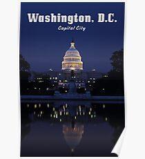 WASHINGTON, DC: Capital City Poster