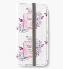 Perfume bottle watercolor iPhone Wallet/Case/Skin