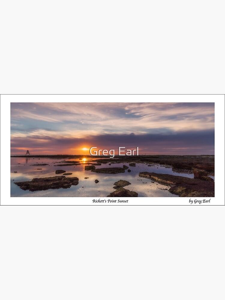 Rickett's Point Sunset by GregEarl