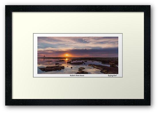 Rickett's Point Sunset by Greg Earl