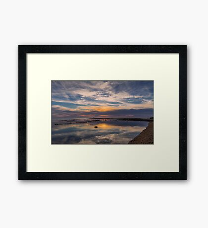 Ricketts Point Reflections Framed Print