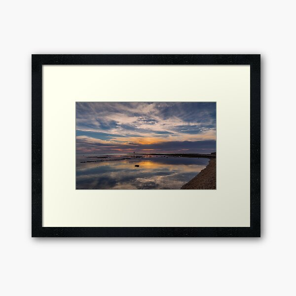 Ricketts Point Reflections Framed Art Print