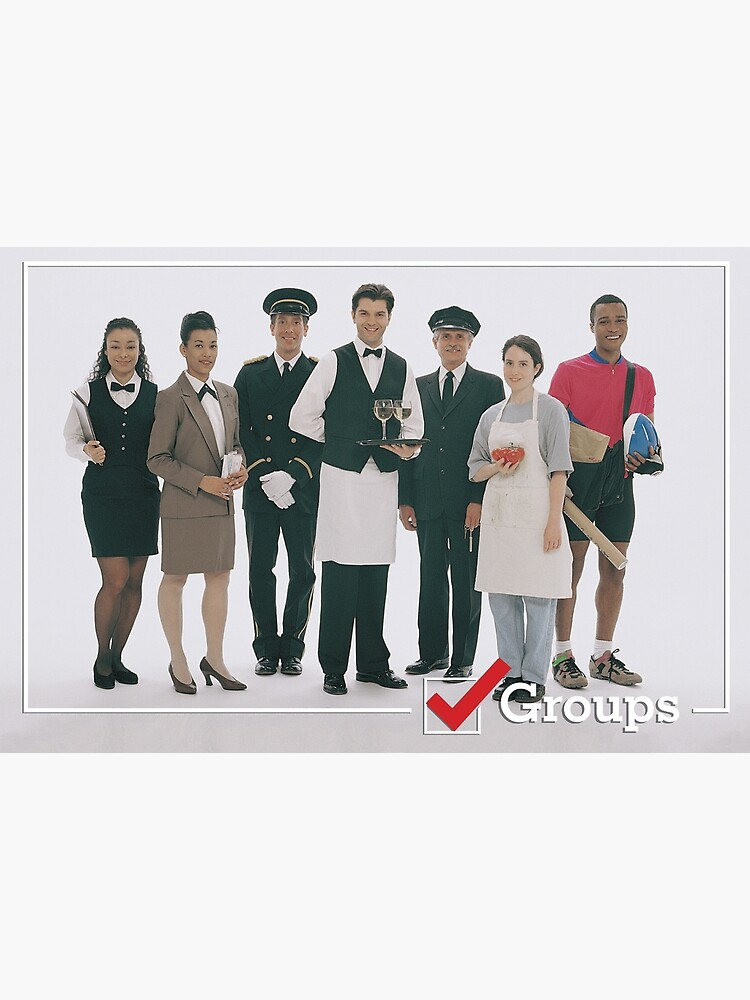 GROUPS: Service Industry by BeautifulPrints