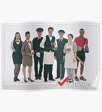 GROUPS: Service Industry Poster