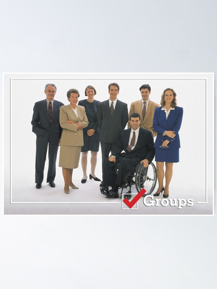 Alternate view of GROUPS: Office  Poster