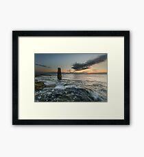 The Rangefinder and the Sunrise Framed Print