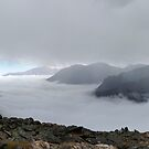 Above and below the clouds at Rocky Mountain National Park by Martin Lawrence