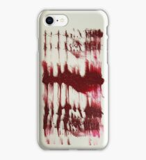 BLOOD INK iPhone Case/Skin