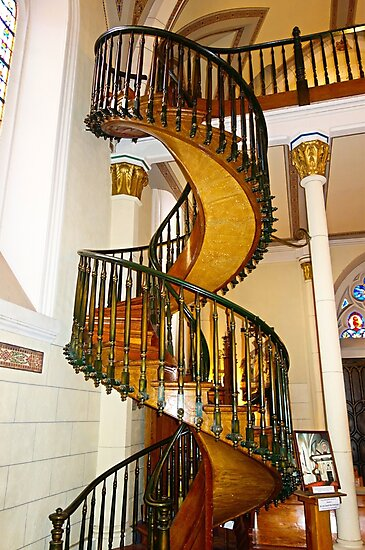 Loretto Chapel Staircase  by Robert Meyers-Lussier