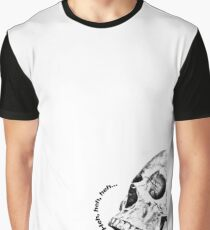 Skull Laugh Graphic T-Shirt