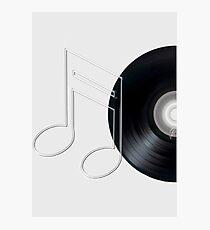 Vinyl recording Photographic Print