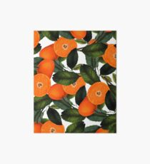 The Forbidden Orange #redbubble #lifestyle Art Board
