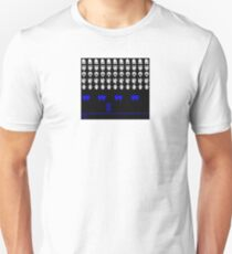 Time and Space Invaders T-Shirt