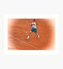 Rafael Nadal - Rome Art Print