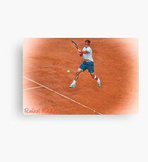 Rafael Nadal - Rome Canvas Print