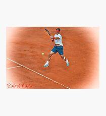 Rafael Nadal - Rome Photographic Print