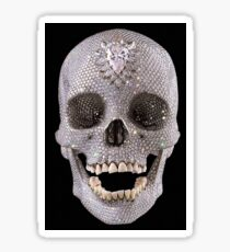 Crystal Skull Sticker