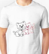 Cat baby cute funny cute design Unisex T-Shirt