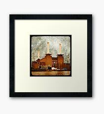 The Battersea Power Station - London Framed Print
