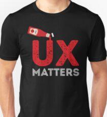 UX MATTERS Unisex T-Shirt