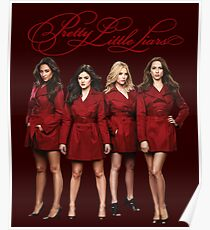Pretty Little Liars Redcoats - A - PLL - (Designs4You) 2 - Hanna, Spencer, Aria, Emily Poster