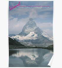 LEISURE! The Great Mountain Poster
