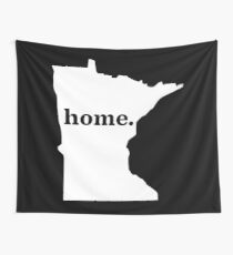 The Minnesota Home W Wall Tapestry