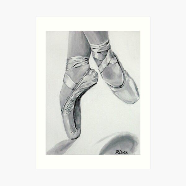 On Pointe Art Print