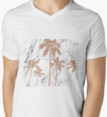Rose gold marble palms T-Shirt
