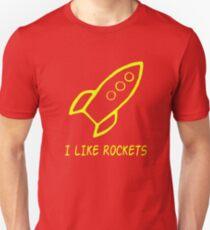 I Like Rockets Unisex T-Shirt