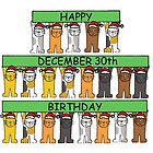 December 30th Birthday Cats by KateTaylor