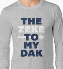 The Zeke To My Dak (Blue/White) Long Sleeve T-Shirt