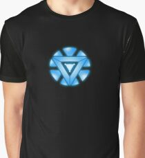 Mini Arc-Reactor Graphic T-Shirt