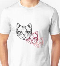 Cat baby cute kitten design Unisex T-Shirt