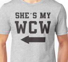 She's My WCW / He's My MCM Best Friends Shirts, Matching Shirts, Bff, Besties, Pairs,  Unisex T-Shirt