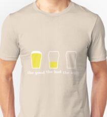 Cerveza The good the bad the ugly beer Unisex T-Shirt