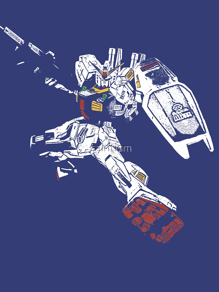 Gundam Mk2 by saintism