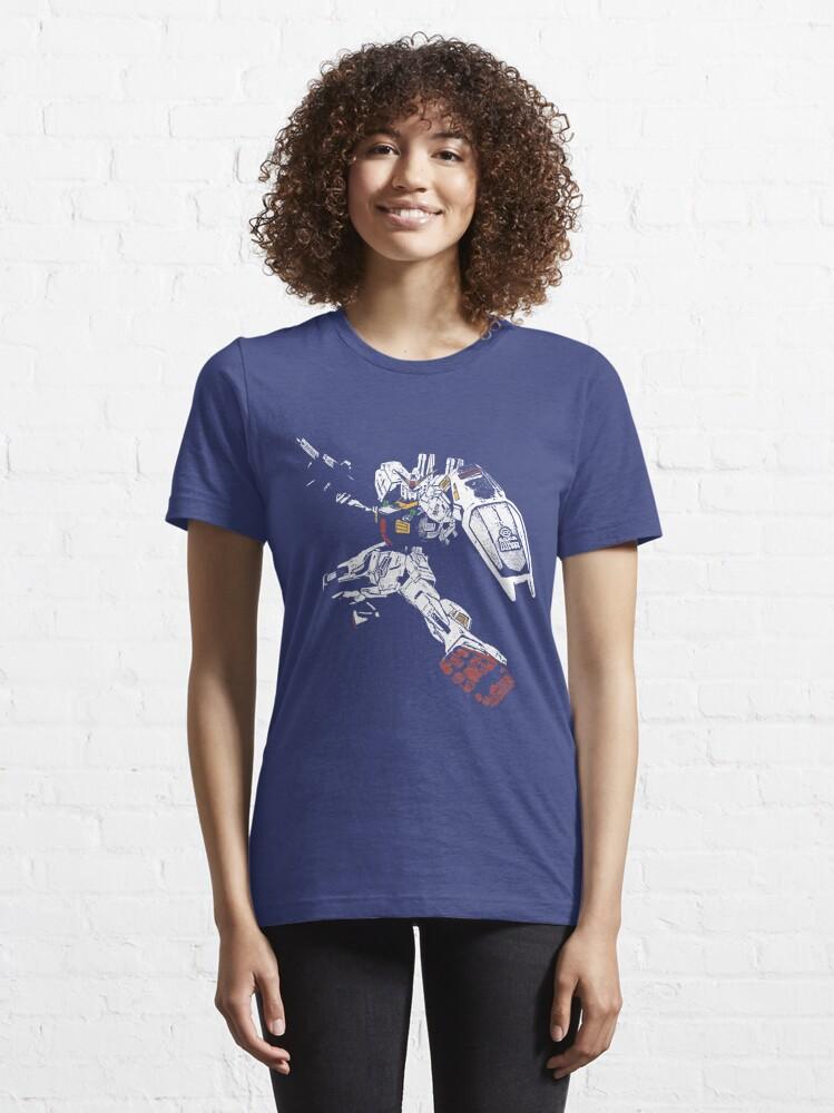 Alternate view of Gundam Mk2 Essential T-Shirt