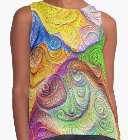 The Color Spots was each carefully sculpted #DeepDream Sleeveless Top