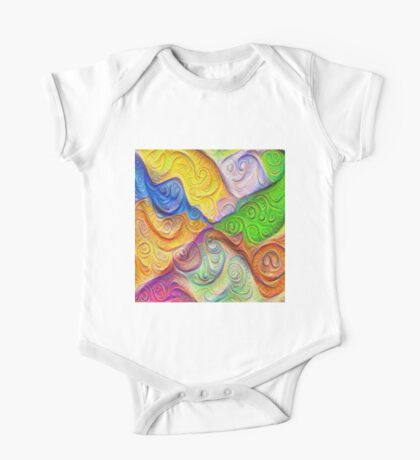 The Color Spots was each carefully sculpted #DeepDream Kids Clothes