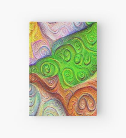 The Color Spots was each carefully sculpted #DeepDream Hardcover Journal