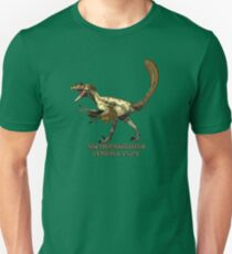 "Deinonychus ""terrible claw"" T_shirt Unisex T-Shirt"