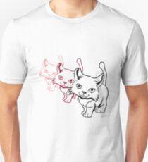 Cat baby cheeky design Unisex T-Shirt