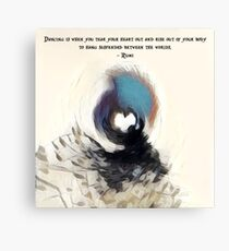 Whirling Sufi Derwish  Canvas Print